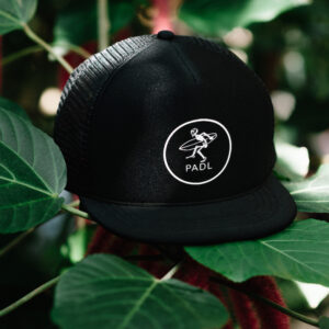 Rocker Baseball Cap Black with PADL Logo