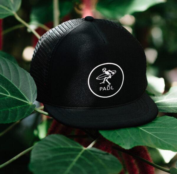 Rocker Baseball Cap Black with PADL Logo