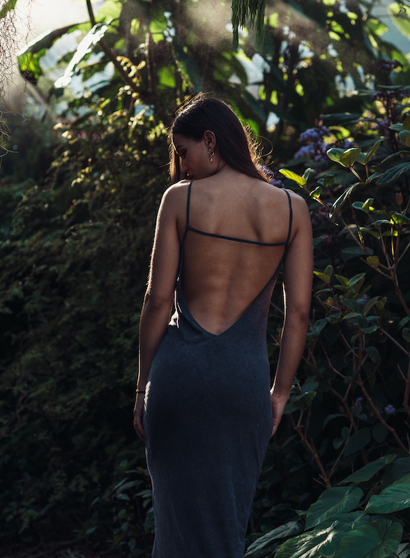 Maxi Dress from behind