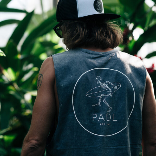 Rocker Tanktop back with PADL Logo