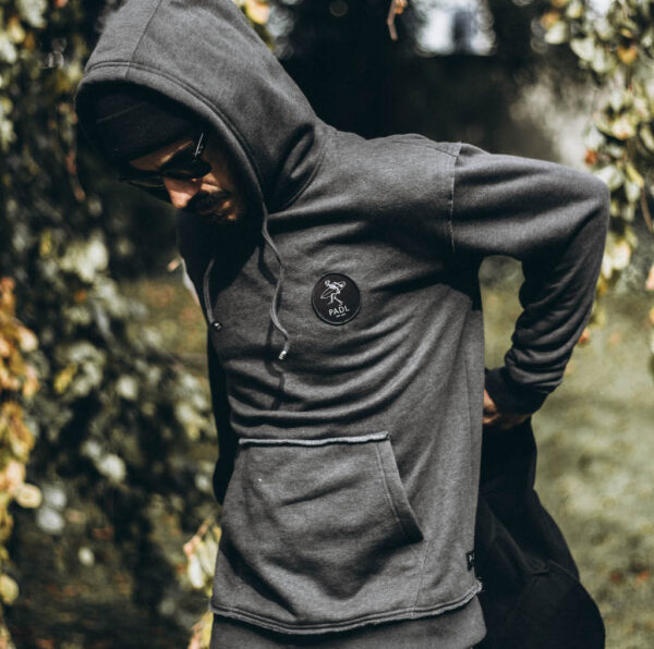 bingin badge hoodie side