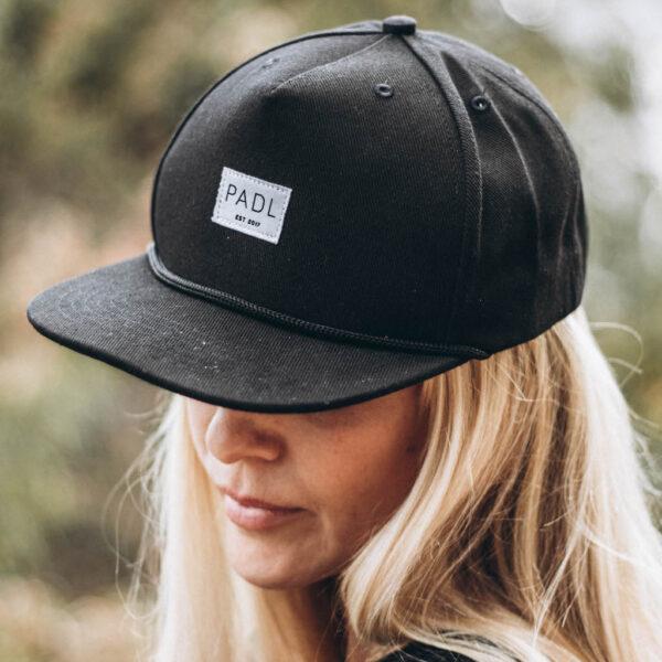 classic label cap women