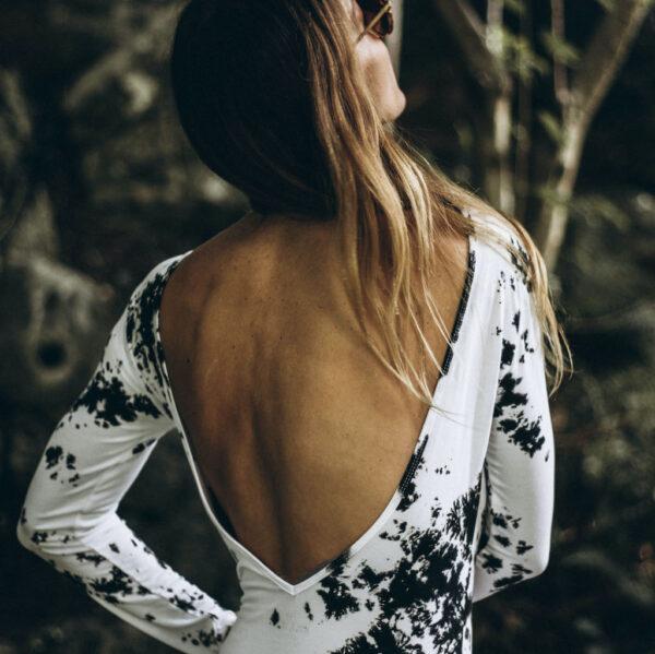 tiedye reef robe side