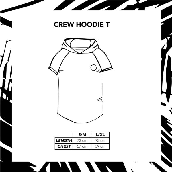 Sizechart Ilustration Crew Hoodie T