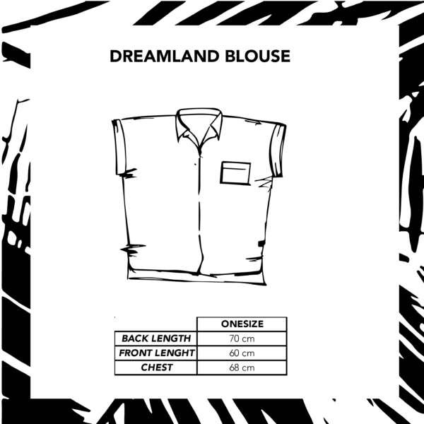 Sizechart Ilustration Dreamland Blouse