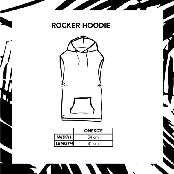 Sizechart Illustration Rocker Hoodie Unisex
