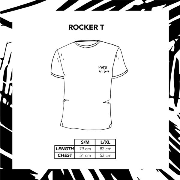 Sizechart Ilustration Rocker T