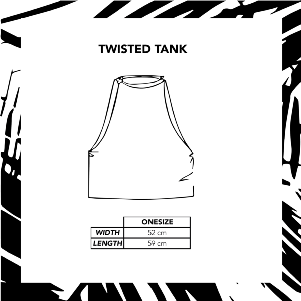 Sizechart Ilustration Twisted Tank Natural