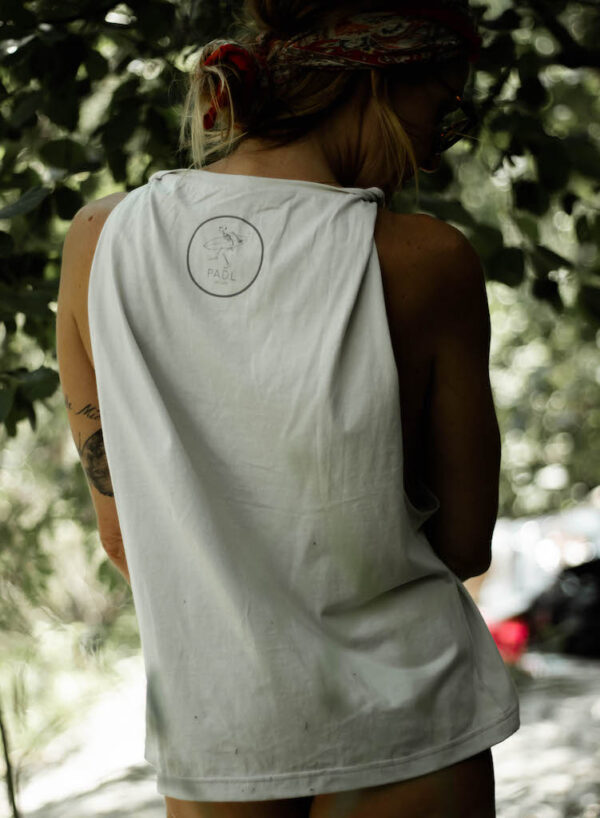Twisted Tank Natural back with logo
