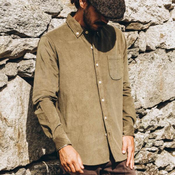 Mr Corduroy Shirt front